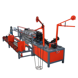Hebei Factory Machine Double/ Single Wire Automatic Chain Link Fence Machine/Machinery Manufacturer