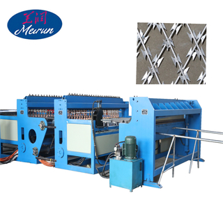 Concertina Razor Barbed Wire welding panel machine (Supplier)