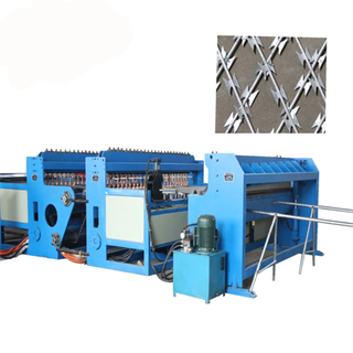 Razor Barbed Weld Wire Mesh Machine