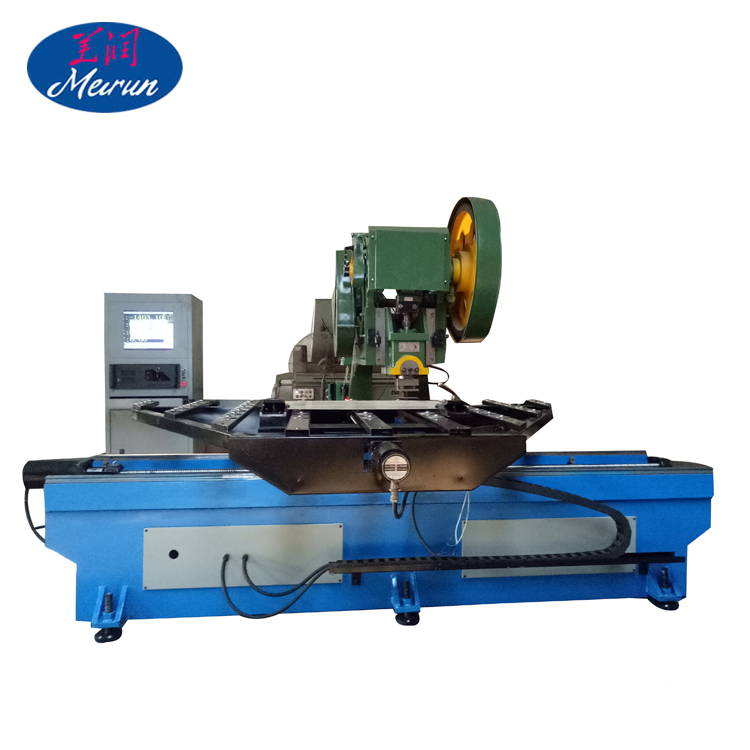 Steel Hole Punching Press Machine