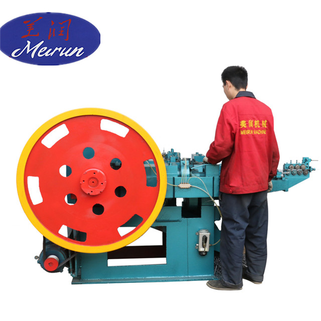 New Design Screw Coil Nails Making Machine with Nice Price