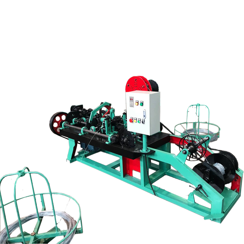 Factory barbed wire making machine exported to Philippines