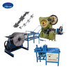 Border Security Concertina Razor Barbed Wire Making Machine Price with cnc punching machine