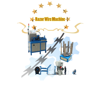 High Speed Concertina Razor Barbed Machine Machine for Making Barbed Concertina Wire Machine Razor Wire