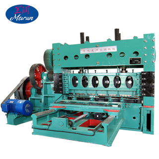 Heavy Duty CNC Computorized Expanded Metal Mesh Making Machine
