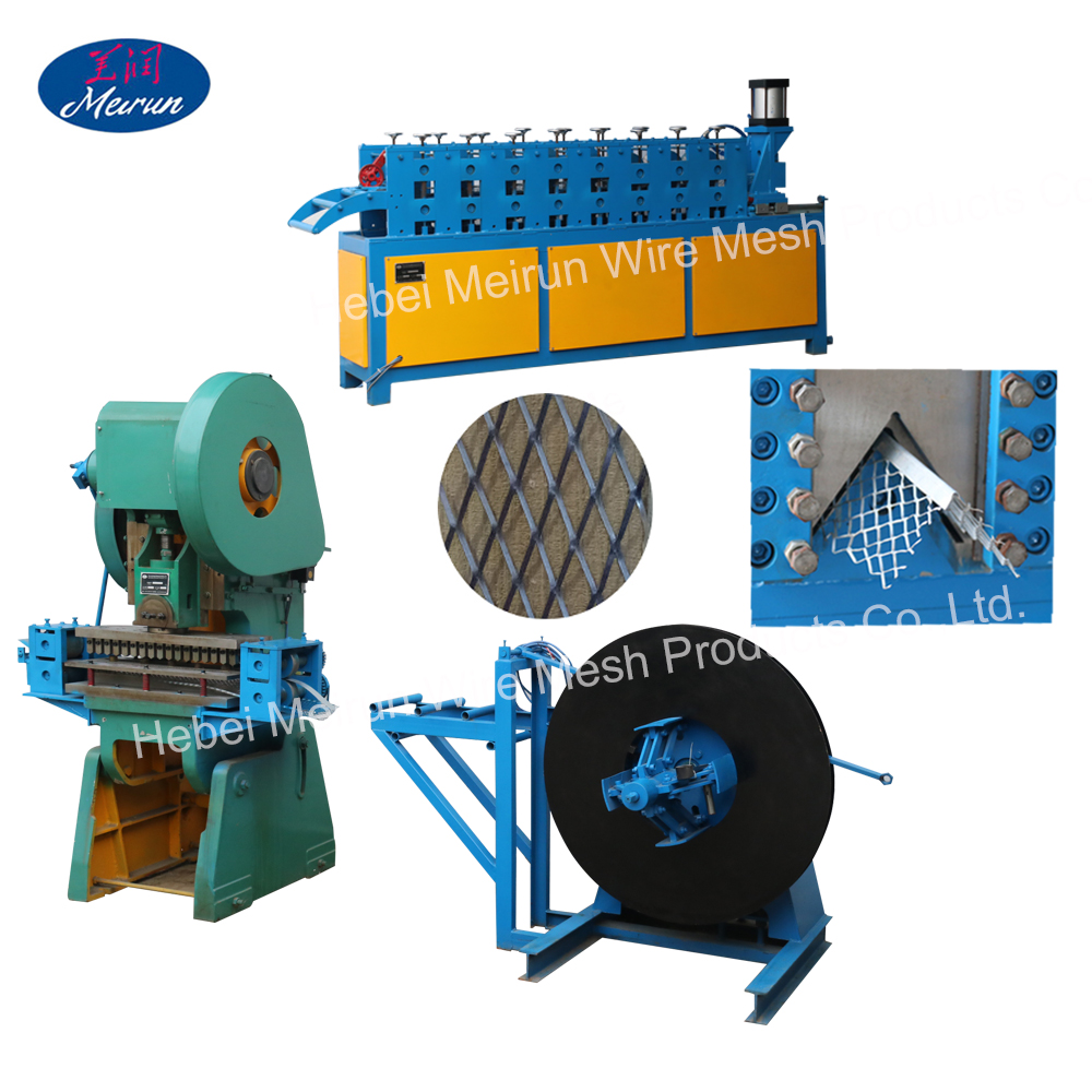 Corner Bead Mesh Roll Forming Machine