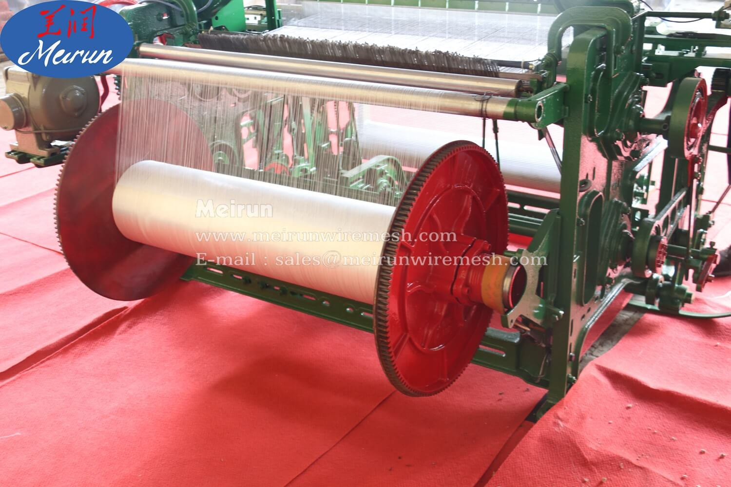 Fiberglass Mesh Making Metal Machine