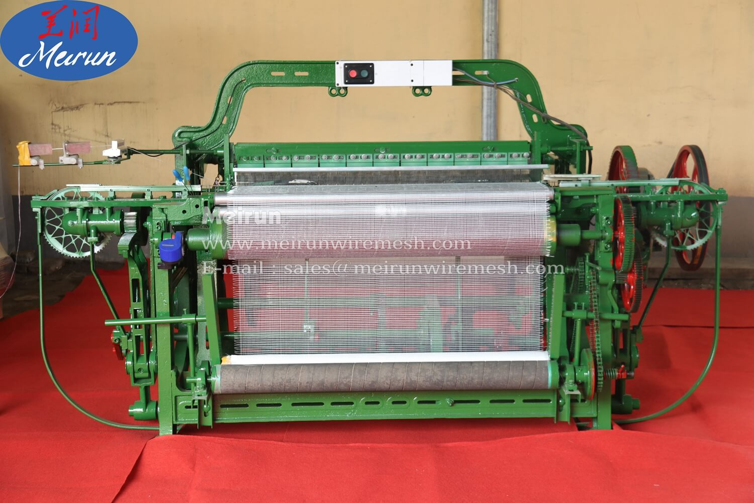 Fiberglass Weaving Wire Mesh Making Machine