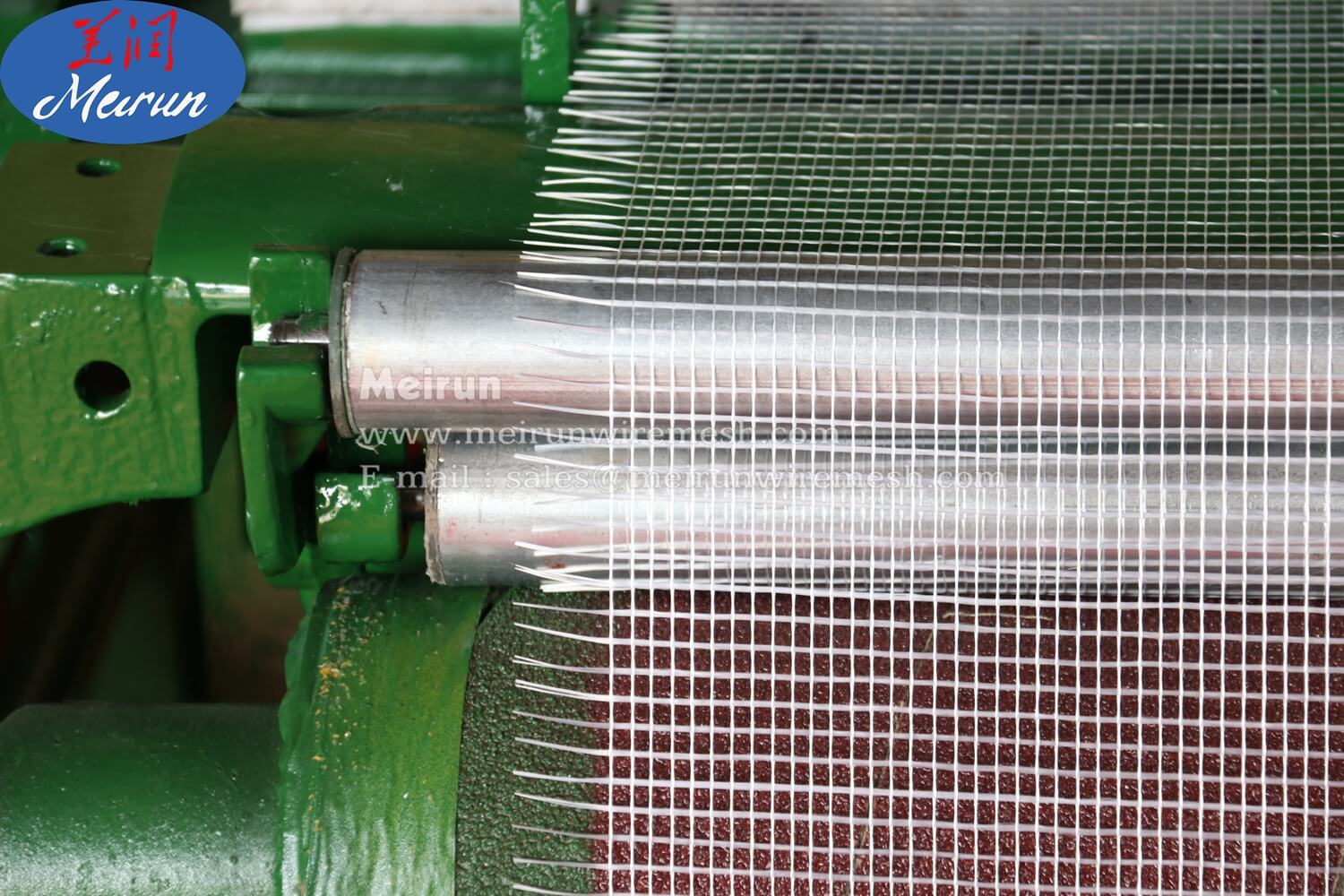 Fiberglass Mesh Coating Weaving Machine