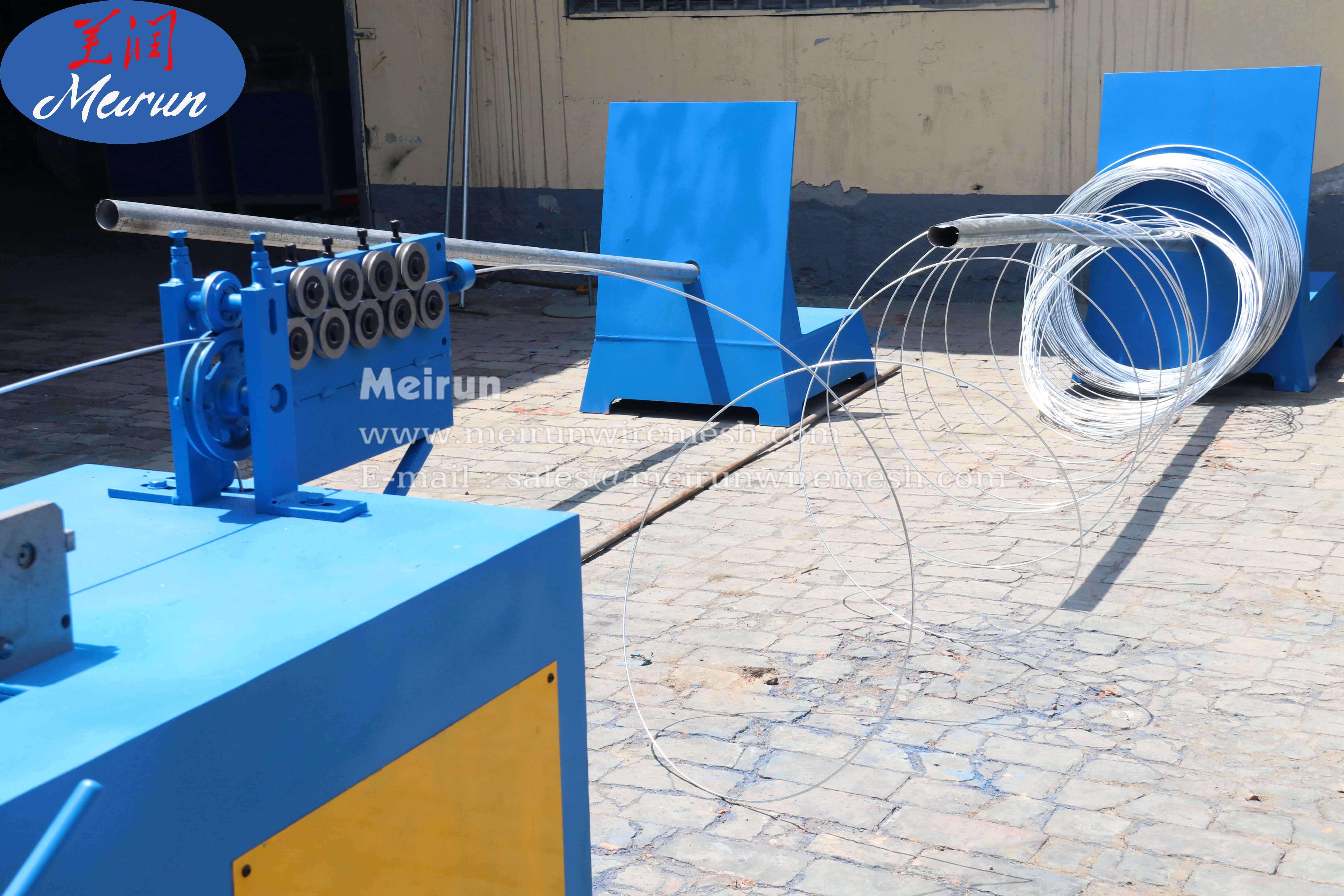 Pvc Coated of Wire Mesh Automatic Welded Wire Mesh Machine