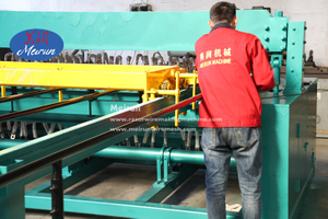 3-6mm 358 Fence Galvanized Wire Mesh Welding Machine