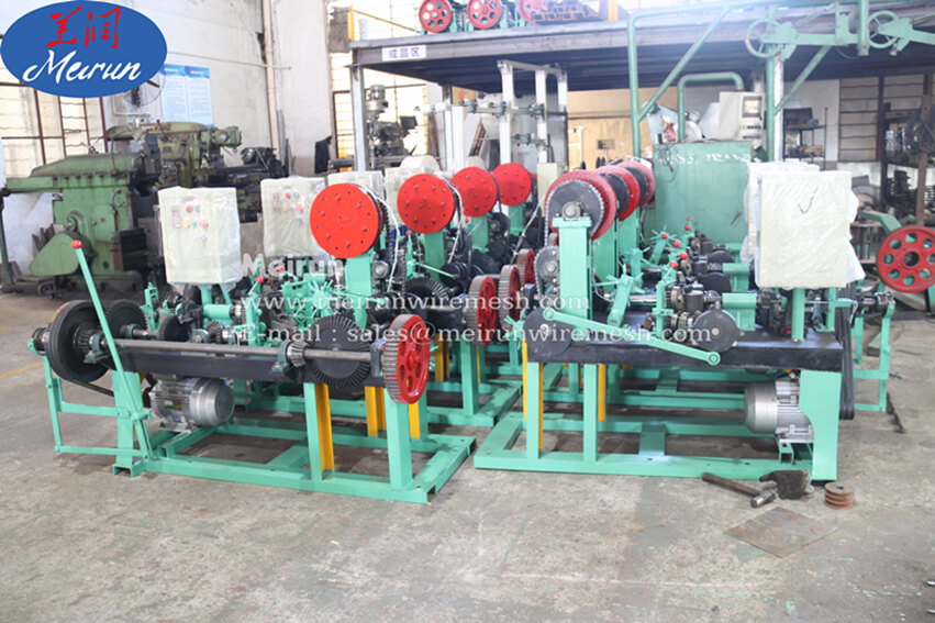 Automatic Common Barbed Wire Fence Making Machine