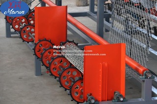 Chain Link Fence Wire Mesh Making Machine