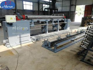 Hexagonal Wire Mesh Making Wire Netting Machine